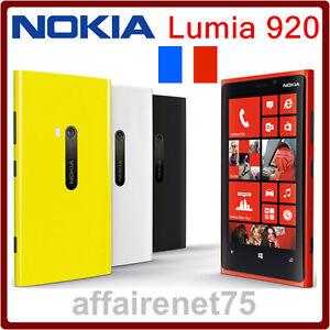 t l phone portable nokia lumia 920 rouge neuf d bloqu ebay. Black Bedroom Furniture Sets. Home Design Ideas