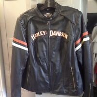 Harley- Davidson Women Leather Jacket - perfect condition!