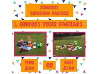 SENSORY MESSY SOFT PLAY PARTIES