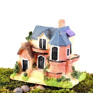 Mini Castle Fairy Garden Perfect for Indoor Home Decoration Garden Flower Pot Matches Sofa Rug Carpet Table desk porch