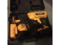 Dewalt 18v 2nd fix nail gun