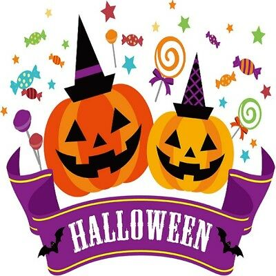 30 Custom Halloween Treats Art Personalized Address Labels