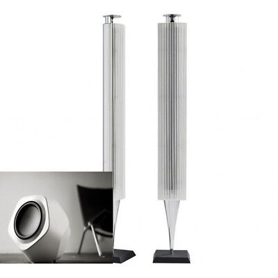Bang & Olufsen B&O BeoLab 18 with White finish Lamella Speakers New pair