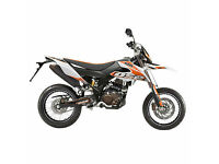 UM DSR SUPERMOTARD 125 - ENDRUO - SUPERMOTO MOTORCYCLE - LEANER LEGAL