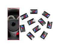 10x For Bmw M3 M5 M6 Rims Tacho Steering Wheel 3d Emblem Car Sticker Car Sticker