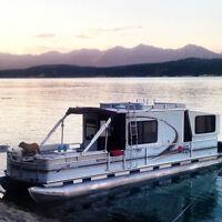 2003 Suntracker Party Cruiser 35' w/ Trailer (Pontoon/Houseboat)