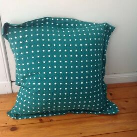 Large Teal Cushion