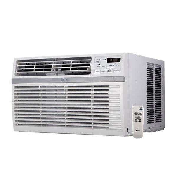 LG - 15,000 BTU - Window Air Conditioner - Cooling Only - 115V