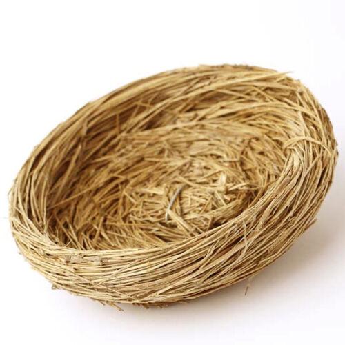 Decorative Bird Nests - Fake Bird Nest for Crafts - Natural Grass Bird Nests