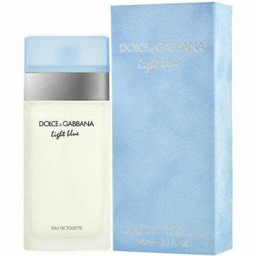 Light Blue by Dolce & Gabbana 3.3 oz / 100ml For Women EDT Brand New Sealed