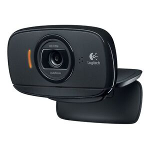 Logitech C525 HD Video Webcam with Autofocus 8MP Pics and Built-in Microphone