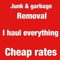 Junk removal (cheap rates)