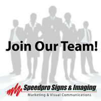 Speedpro Signs & Imaging - Production Assistant