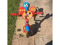 "Mickey Mouse 10"" Bike. Good condition."
