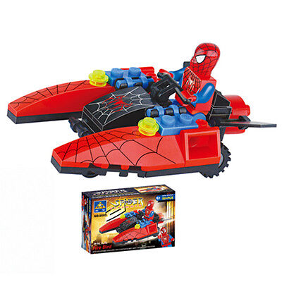 Fun Super Heroes SpiderMan Figures Doll Building Blocks Set Kids Boy Girl Toy A