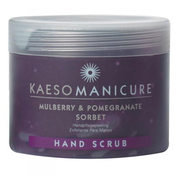 Kaeso Mulberry & Pomegranate Sorbet Hand Scrub for Manicure Treatment 450ml