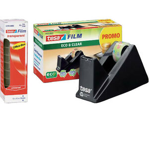 Tesa Tischabroller 59327 gefüllt inkl. 1 Rolle + 10x Tesafilm 57370 10x15mm