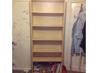 Ikea bookshelves/ unit. Very sturdy. Good condition.