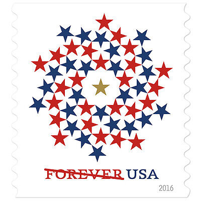 USPS New Patriotic Spiral Booklet of 10