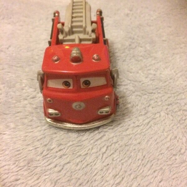 Disney cars big red the fire truck