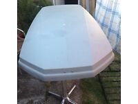 Roof Box 500 L with keys plus fittings