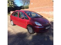 2005 Citroen Picasso 2.0 HDI Red 5 Door Tow Bar Family Car