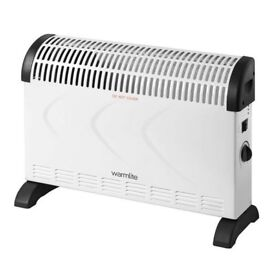 Warmlite Convection heater with Adjustable Thermostat WL41001