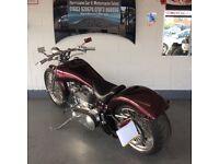 At Hurricane Part X Welcome Custom Old Skool Chop Chopper Not Harley Bobber