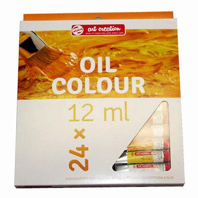 24 Tuben a 12ml Ölfarben-Set von Royal Talens