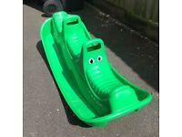 Crocodile Rocker Rocking toy (see-saw)