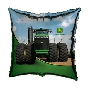 JOHN DEERE TRACTOR PARTY SUPPLIES HELIUM FOIL BALLOON AUSTRALIAN SELLER