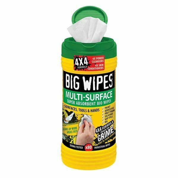 Big Wipes 6002 0003 Multi-Surface Wipes (Pack of 2)