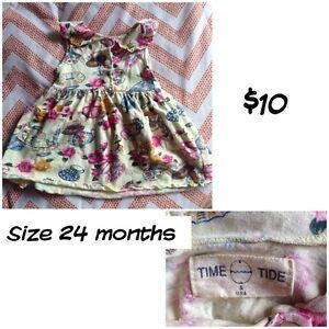 Cute vintage tea party dress size 24 months