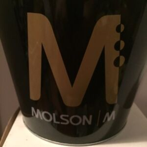 VINTAGE MOLSON ICE BUCKET BEER HOLDER(1990's) West Island Greater Montréal image 4