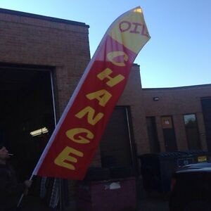 Automotive Feather Flags!!! Must See