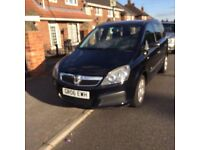 2006 Vauxhall zafira excellent condition