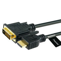 6ft HDMI To DVI Male Cable For PS3 PC LCD Monitor