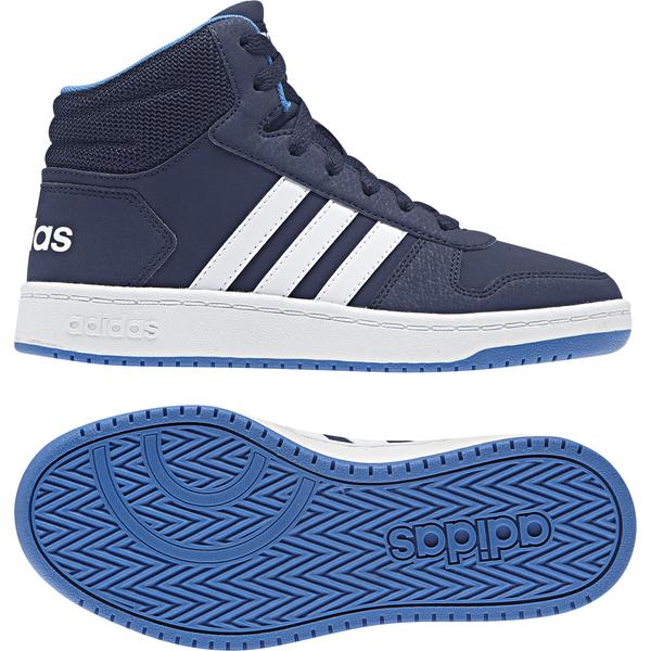 Adidas Schuhe Hoops Mid 2.0 Stiefel, Basketball, Sneaker ,Kinder, F35101