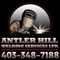 Welding shop and portable welding services.
