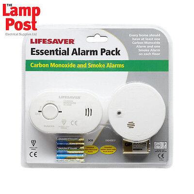 Kidde Home Safety Twin Pack Carbon Monoxide Alarm & Smoke Detector Kit