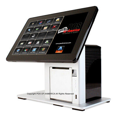 Pos-x Ion Tp5 14 All-in-one Restaurant Pos Printer W10 With Aldelo Pro New