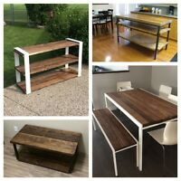 Custom Handcrafted Furniture-Locally Made!