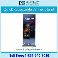 Graphic printed Banner Stands