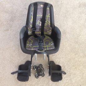 Bobike front bike seat