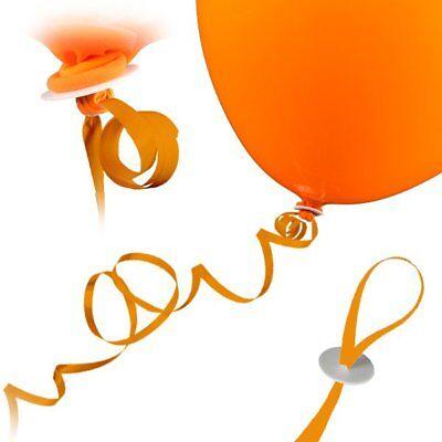 25 St. Luftballon Schnellverschlüsse ( GOLD) für mit Helium gefüllte Luftballon ()