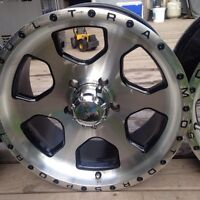 "18""x5.5 5 bolt Dodge Ram rims"