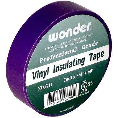 Royal Purple Electrical Tape 34 X 60 7 Mil Vinyl Insulating