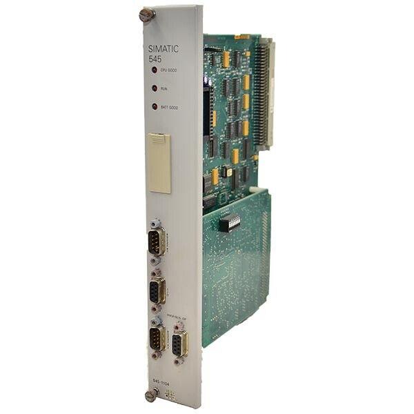 5451104 Siemens Processor Module Simatic 545  --SA
