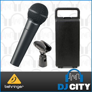 Behringer XM8500 Dynamic Vocal Microphone Mic Clip & Hard Case Included - BNI...