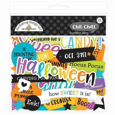 Scrapbooking Crafts Doodlebug Chit Chat Pumpkin Party Halloween Phrases Candy 31](31 Halloween Crafts)